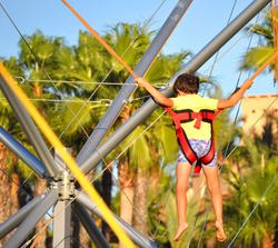 jumping - columpio acrobático