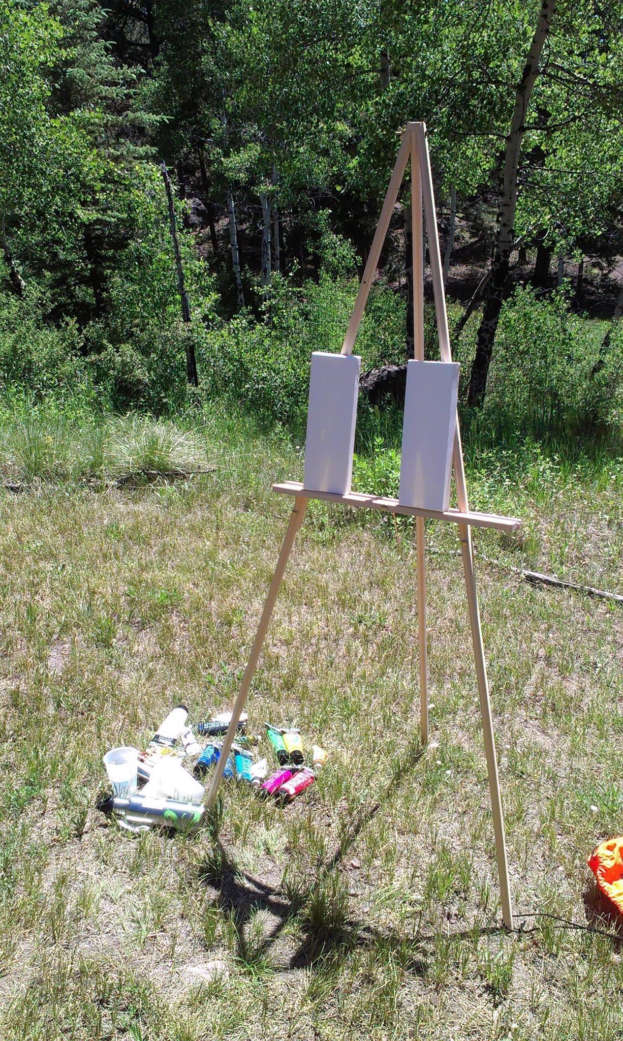 Outdoor studio!