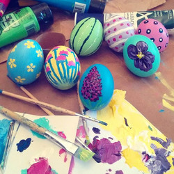 Painted eggs 2016
