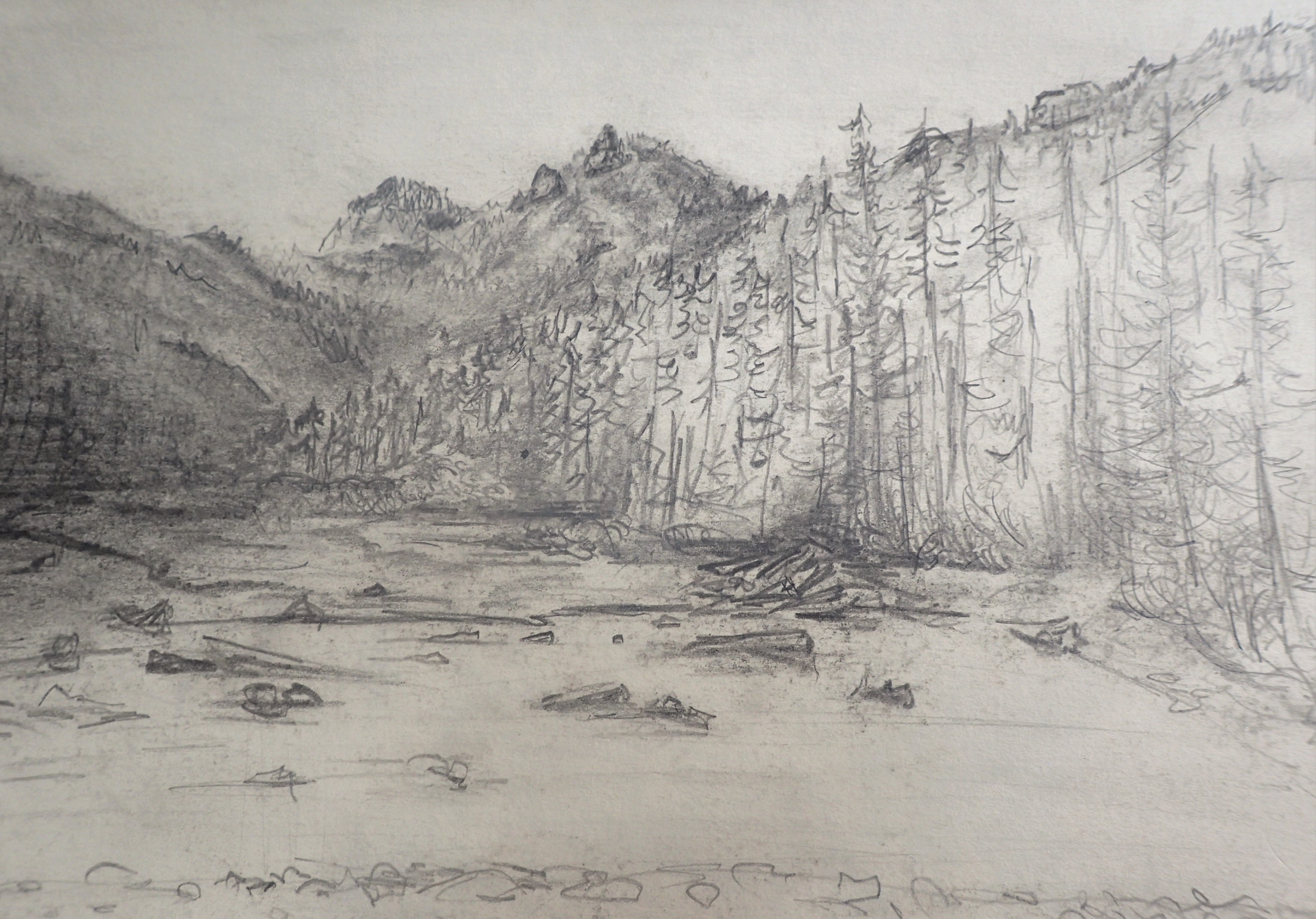 graphite study lake