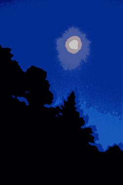 cutout-trees-slope-moon