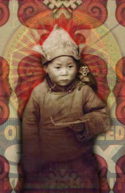 Dalai with Monkey