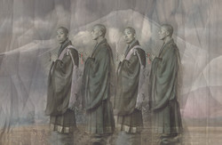 4 Mönche