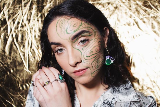 Makeup, Hair, and photo by Natasha Gendron | Model: Samantha Wardle