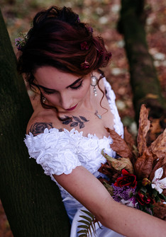 Photo: Kestrel Bailey Photography   Makeup: Natasha Gendron   Hair: Areca Hollinsworth   Model: Samantha Wardle