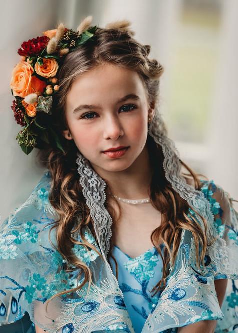Photo: Bella Vita Creative | Makeup: Natasha Gendron | Hair: Areca Hollinsworth | Dress: Bentley and Lace | Model: Natalie Ertel | Venue: Maplehurst Farms | Flowers: Sustainable Blooms by Garden Treasures