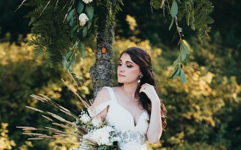Photo: Anastasia Sunrise Photography | Makeup: Natasha Gendron | Hair: Areca Hollinsworth | Model: Elyssa Cartier