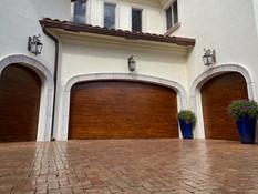 FAUX WOOD GRAIN DOORS