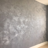 This stone finish has a revolutionary architectural coating that produces beautiful reflective stone-like patterns. This product is unsurpassed in its simplicity, versatility. The nature of the material, allows it to be used to create a stunning variety of high/low dimensional finishes that do not require burnishing to obtain designer quality results.