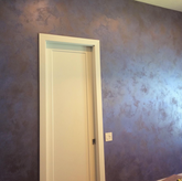 Italian architectural brushed or trowel-on coating with a rich range of colors with gentle silver and gold base metallic highlights. Uniquely decorative producing stunning texture and effects.