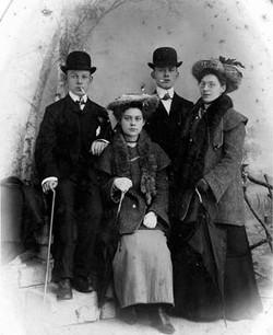 Geer, Mari, Zwier en Sophie