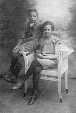 Piet (1918) en Annie (1914)