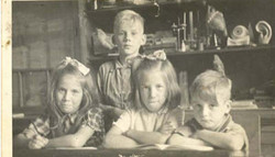 Vier kinderen van Arie