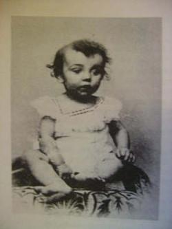 Vroege foto van Fientje (1898)