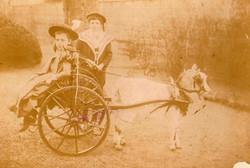 Bert (1886) en Mien (1884)