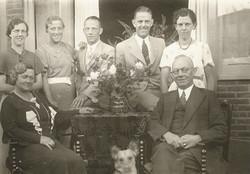 Geer (1886) en zijn gezin