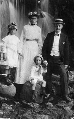 Pieter Joseph en zijn gezin