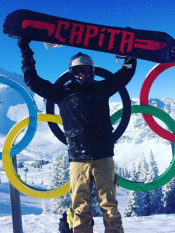 Sports physio Andrew Smythe, Canada, Whistler, Winter Olympics, Snowboarding