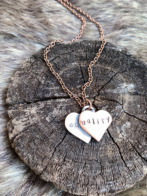 Equality Heart Necklace