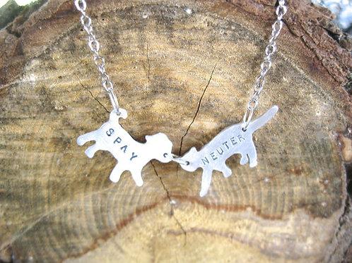 Mini Cat & Dog Spay Neuter Necklace