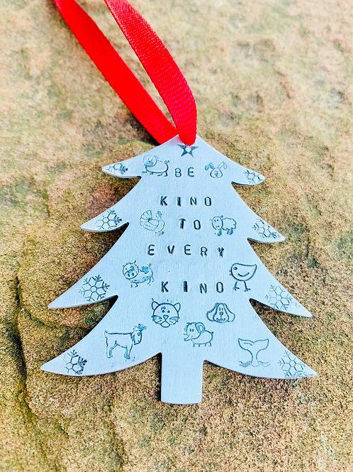 Be Kind to Every Kind Christmas Tree Ornament