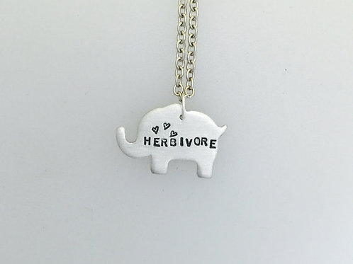 Herbivore Elephant Necklace
