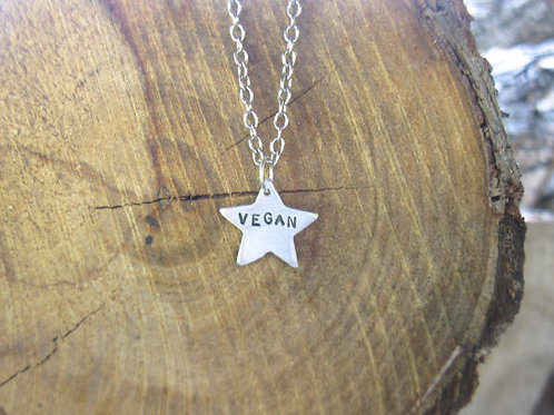You are a Vegan Star Necklace