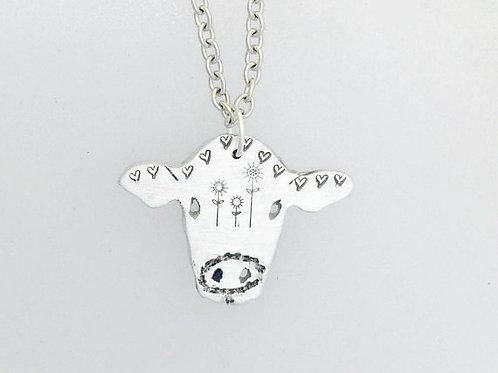 Good Karma Cow Necklace