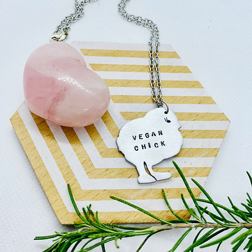 Vegan Chick Necklace