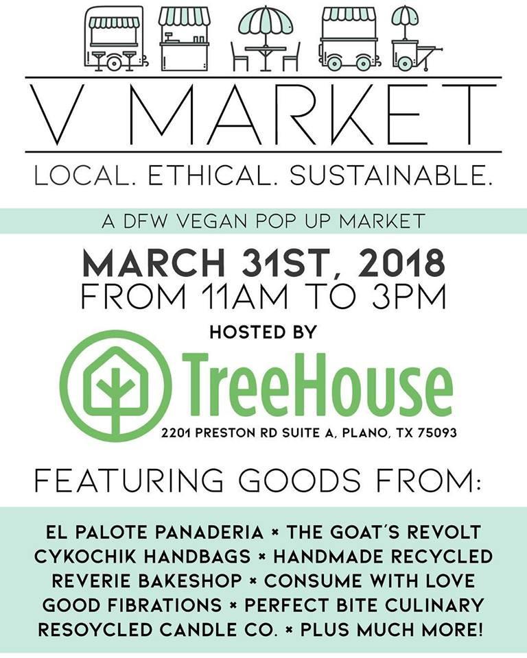 V Market-A DFW Vegan Pop Up Market
