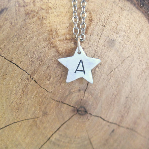 You are a Star Initial Necklace