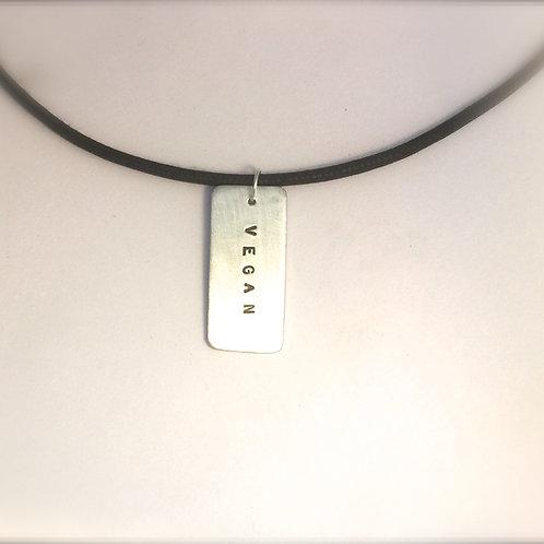 Men's Unisex Veganniversary Necklace