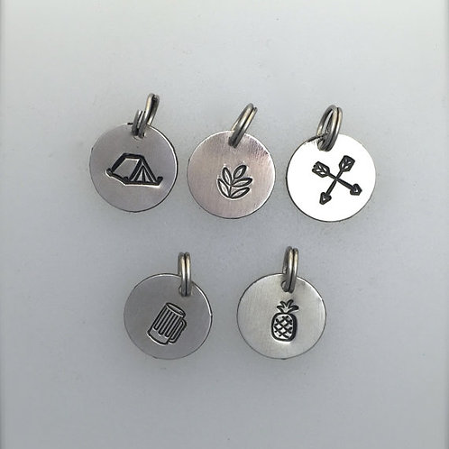 Camping Inspired Charms
