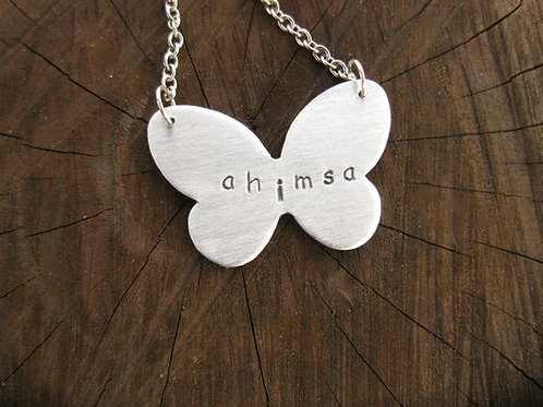 Ahimsa Butterfly Necklace