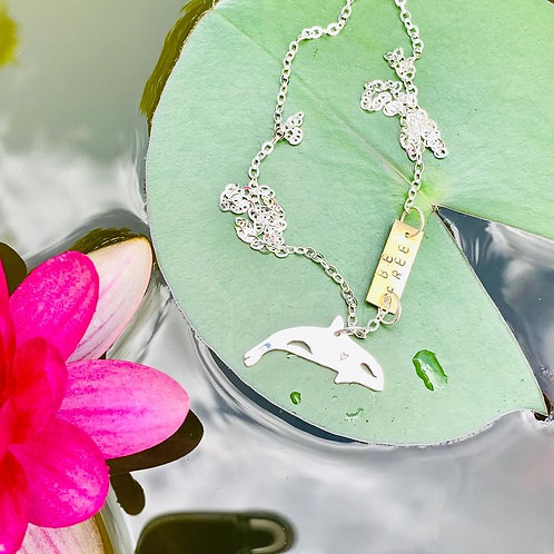 Be Free Orca Necklace