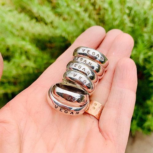 Vegan Band Ring