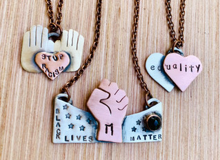 New Black Lives Matter Donation Jewelry Collection