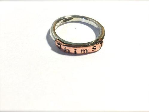 Ahimsa Stacker Ring