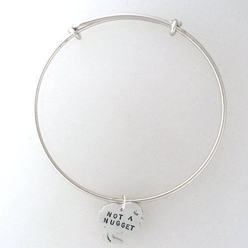 Not a Nugget Chick Bangle Bracelet