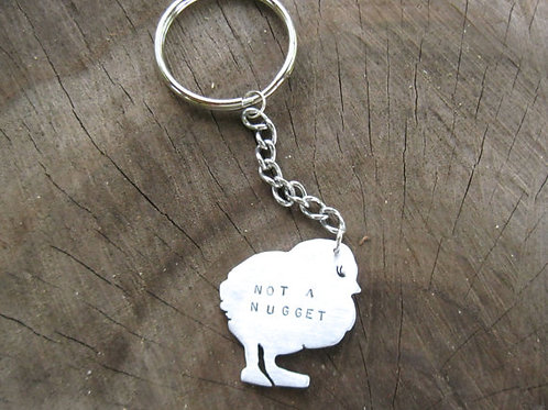 Not a Nugget Keychain