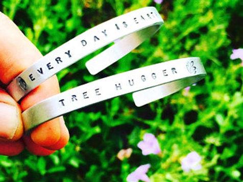 Tree Hugger Cuff Bracelet