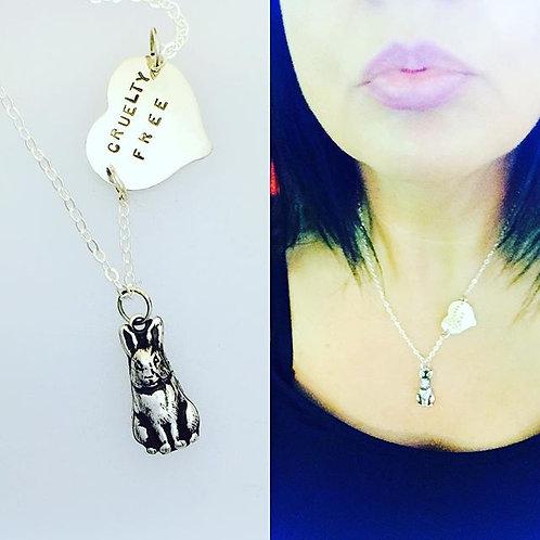 Cruelty Free Bunny Necklace