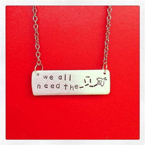 We All Need the Bees Necklace