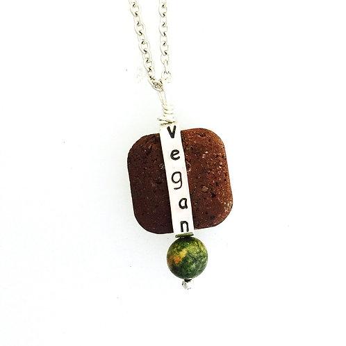 Vegan Bead Necklace