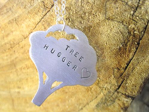 Tree Hugger Tree Necklace
