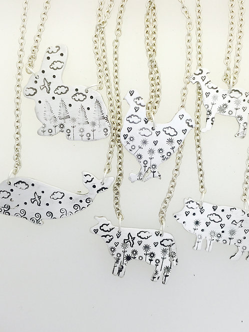 Your Choice-Animals in their Natural Habitat Necklaces
