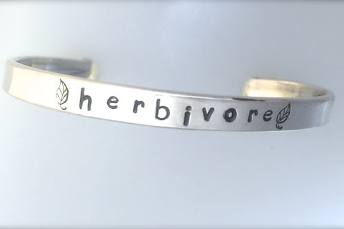Herbivore Cuff Bracelet in Recycled Sterling Silver