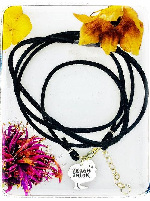 Vegan Suede Wrap Bracelets