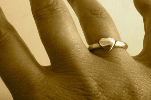 Heart Stacker Ring