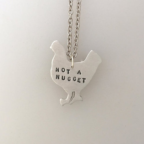 Not a Nugget Chicken Necklace